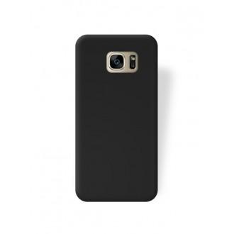 """Juodas silikoninis dėklas Samsung Galaxy G930 S7 telefonui """"Rubber TPU"""""""