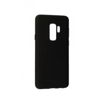 """Juodas silikoninis dėklas Samsung Galaxy G965 S9 Plus telefonui Mercury Goospery """"Soft Jelly Case"""""""