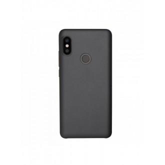 """Juodas silikoninis dėklas Xiaomi Redmi Note 5 Pro  telefonui """"Mercury Soft Feeling"""""""