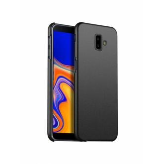 Juodos spalvos dėklas X-Level Guardian Samsung Galaxy J610 J6 Plus 2018 telefonui