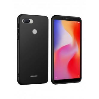 Juodos spalvos dėklas X-Level Guardian Xiaomi Redmi 6 telefonui