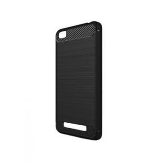 Juodos spalvos dėklas  Xiaomi Redmi 4A telefonui