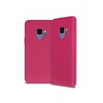 """Koralo spalvos silikoninis dėklas Samsung Galaxy J600 J6 2018 telefonui Mercury Goospery """"Style Lux"""""""