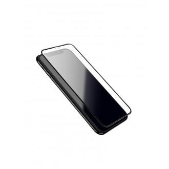 Lenktas juodas 3D apsauginis grūdintas stiklas Apple iPhone X / XS telefonui