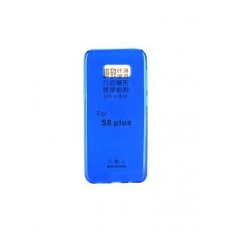 Mėlynas plonas 0,3mm silikoninis dėklas Samsung Galaxy S8 Plus telefonui