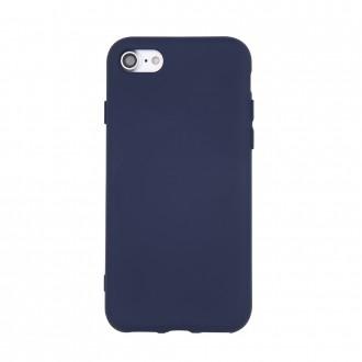 Tamsiai mėlynas silikoninis dėklas ''Rubber TPU'' telefonui Samsung A02s