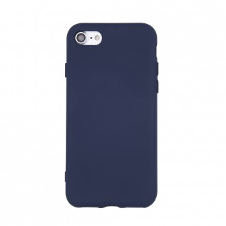 Tamsiai mėlynas silikoninis dėklas ''Rubber TPU'' telefonui Samsung A22 5G