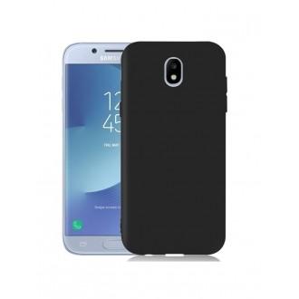 """Juodas dėklas Samsung Galaxy J5 2017 telefonui """"Rubber"""""""