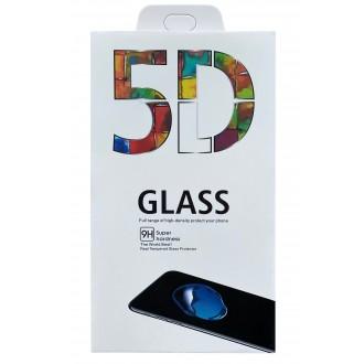 LCD tvirtas apsauginis stikliukas 5D Full Glue Xiaomi Poco X3 NFC lenktas juodas