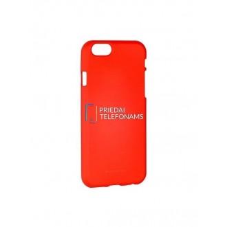 "Raudonas silikoninis dėklas Apple iPhone 6 / 6S telefonui ""Mercury Soft Feeling"""