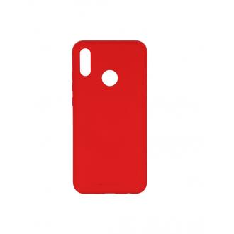 """Raudonas silikoninis dėklas Huawei P Smart 2019 telefonui """"Mercury Soft Feeling"""""""