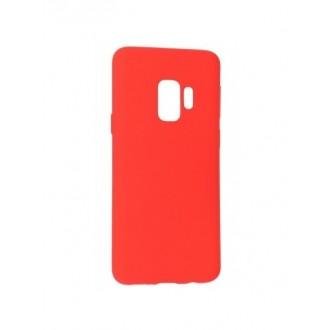 """Raudonas silikoninis dėklas Samsung Galaxy G960 S9  telefonui Mercury Goospery """"Soft Jelly Case"""""""