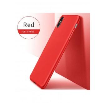 Raudonos spalvos dėklas X-Level Guardian Apple iPhone XS Max telefonui
