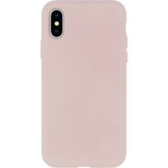 Rožinio smėlio spalvos silikoninis dėklas Mercury ''Silicone Case'' telefonui Samsung S21