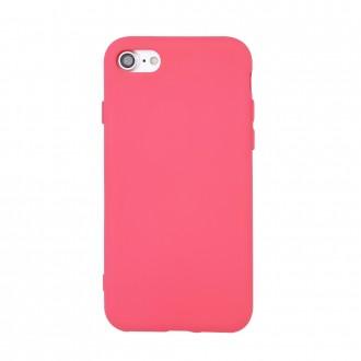 Rožinis dėklas ''Silicon'' telefonui Samsung S21 Plus / S30 Plus