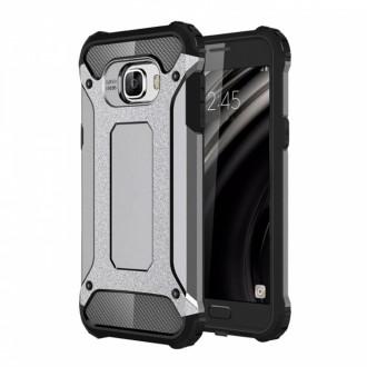 """Sidabrinis silikoninis dėklas Xiaomi Redmi 7 telefonui """"Armor Neo"""""""