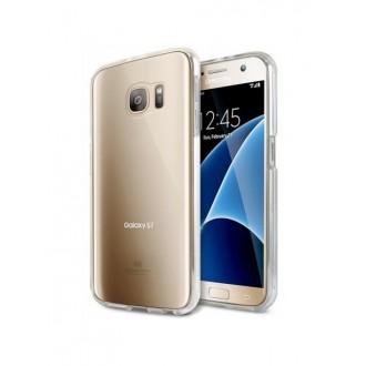 """Skaidrus dėklas Mercury Goospery """"Jelly Clear"""" Samsung Galaxy S7 telefonui"""