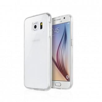 Skaidrus silikoninis dėklas Mercury ''Jelly Clear'' telefonui Samsung S21 Plus