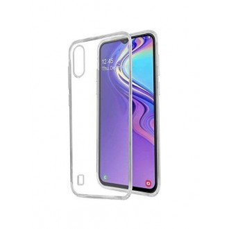 "Skaidrus silikoninis dėklas Samsung Galaxy A105 A10 telefonui ""Clear 0,5mm"""