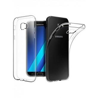 """Skaidrus silikoninis dėklas Samsung Galaxy A3 2017 telefonui """"Clear """""""