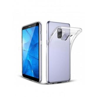 "Skaidrus silikoninis dėklas Samsung Galaxy A600 A6 2018 telefonui ""Clear 1.0mm"""