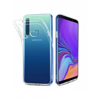 "Skaidrus silikoninis dėklas Samsung Galaxy A920 A9 2018 telefonui ""Clear 1.0mm"""