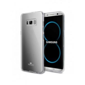 """Skaidrus silikoninis dėklas Samsung Galaxy S8 telefonui """"Mercury Goospery Pearl Jelly Case"""""""