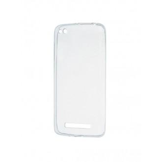 Skaidrus silikoninis dėklas Xiaomi Redmi 4A telefonui