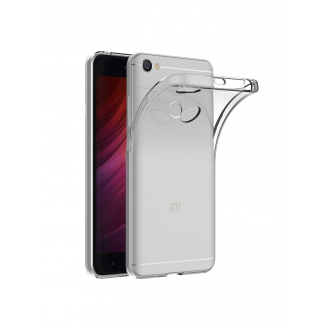 "Skaidrus silikoninis dėklas Xiaomi Redmi Note 5A / Note 5A Prime telefonui ""Clear 1.0mm"""