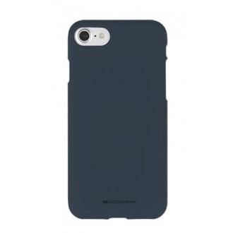 Tamsiai mėlynas silikoninis dėklas Mercury ''Soft Jelly Case'' telefonui Huawei P20 Lite