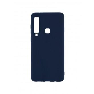 "Tamsiai mėlynas silikoninis dėklas Samsung Galaxy A920 A9 2018 telefonui ""Mercury Soft Feeling"""