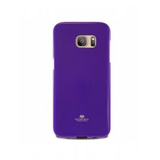 """Violetinis dėklas Mercury Goospery """"Jelly Case"""" Samsung Galaxy G920 S6 telefonui"""