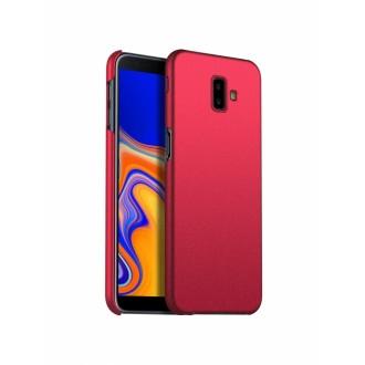 Vyno raudonos spalvos dėklas X-Level Guardian Samsung Galaxy J610 J6 Plus 2018 telefonui