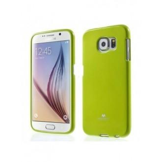 """Žalias dėklas Mercury Goospery """"Jelly Case"""" Samsung Galaxy S6 telefonui"""